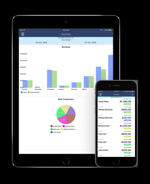 IOS Invoice Professional - Apple iphone invoice